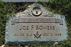 "Joseph Franklin ""Joe"" Bowers"