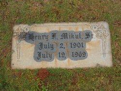 Henry Frank Mikul, Sr