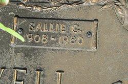 Sallie C. <I>Grimsley</I> McDowell