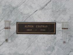 Alphia Chapman