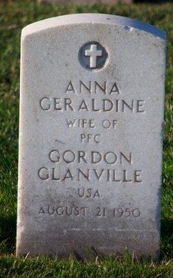 Anna Geraldine <I>Wynne</I> Glanville