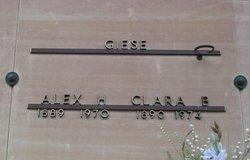 Clara <I>Kessel</I> Giese