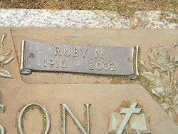 Ruby Nettie Ann <I>Sharp</I> Jackson