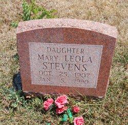 Mary Leola <I>Stevens</I> Stevens