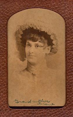 """Elizabeth Ann """"Bettie"""" <I>Bates</I> Drane"""