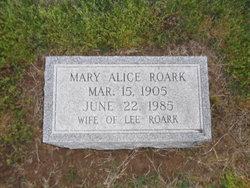 Mary Alice <I>Jaggers</I> Roark