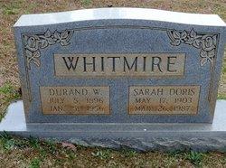 Sarah Doris <I>Walker</I> Whitmire
