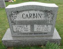 George F. Carbin