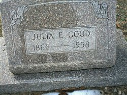 Julia Elizabeth <I>Butler</I> Good