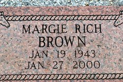 Margie <I>Rich</I> Brown