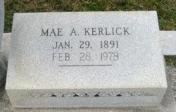 """Mary Agnes """"Mae"""" <I>Taylor</I> Kerlick"""