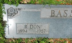 "Rufus Donaldson ""Don"" Bass"