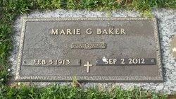 Marie <I>Groft</I> Baker