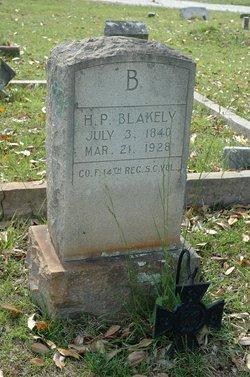H P Blakely