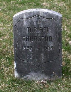Miriam Thurston
