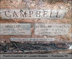Mary Mollie <I>Kincy</I> Campbell