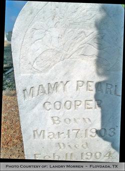 Mamy Pearl Cooper