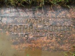 Bertha Luetta <I>Waugh</I> Gorton