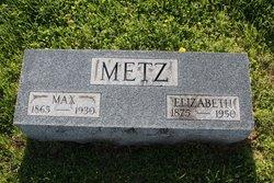 Elizabeth <I>Merkel</I> Metz