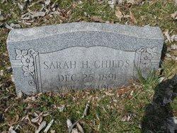 Sarah H. Childs