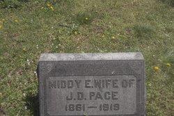 Middy Elizabeth <I>Bartlett</I> Pace