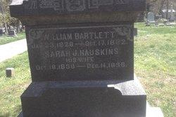 Sarah J <I>Hauskins</I> Bartlett