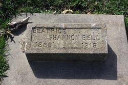 Beatrice <I>Shannon</I> Bell