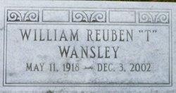 """William Reuben """"T"""" Wansley"""