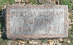 Bertha <I>Bednar</I> Burgin