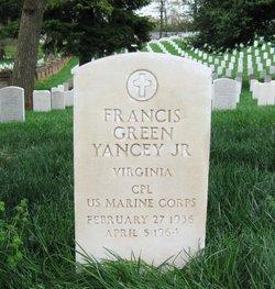 Corp Francis Green Yancey, Jr
