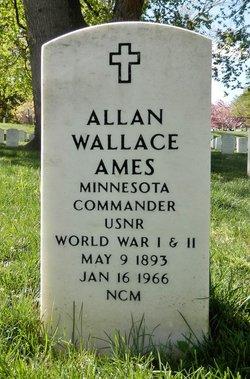 "Capt Allan Wallace ""Alphy"" Ames"
