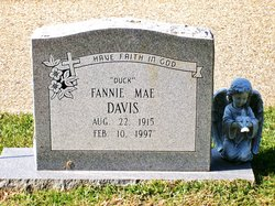 "Fannie Mae ""Duck"" <I>Hart</I> Davis"