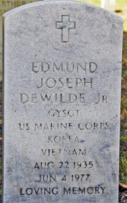 Edmund Joseph Dewilde, Jr