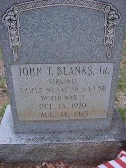 2LT John T Blanks, Jr