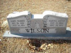 """Martha Louise """"Moffie"""" Wilson"""