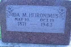 Ida May <I>Ancil</I> Heironimus