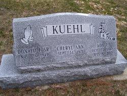 """Ada Elizabeth """"Sue"""" <I>Lloyd</I> Kuehl"""