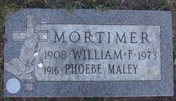 Phoebe <I>Maley</I> Mortimer