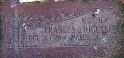Frances J. Riggsbee