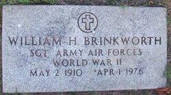 Sgt William H. Brinkworth