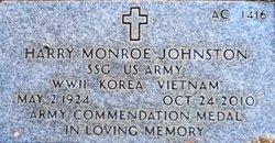 Harry Monroe Johnston