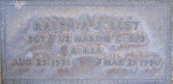 Ralph A Jolley