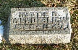 Hattie R. Wunderlich