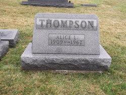 Alice Leona <I>Dawson</I> Thompson