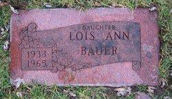 Lois Ann <I>Gast</I> Bauer