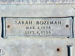 Sarah <I>Bozeman</I> Utsey
