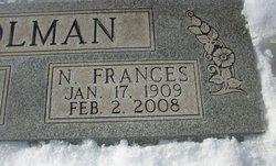 Nannie Frances <I>Vandiver</I> Holman