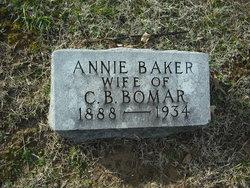 Annie Mae <I>Baker</I> Bomar