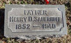 Henry D Sauerhoff