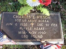 "Sgt Charles Lee ""Leo"" Wilson"